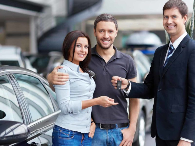 Steps to buying a new car